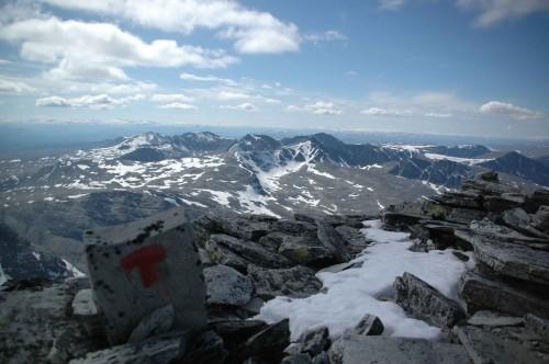 topptur fjell rondane nasjonalpark glede mat matpakke niste guide