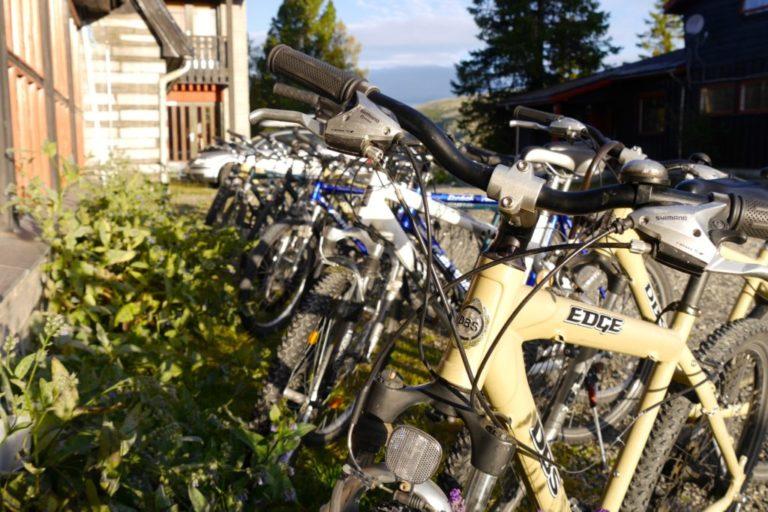 sykkel tur sommer hotell utlån rondane nasjonalpark overnatting