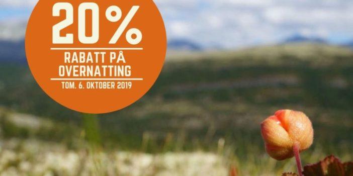 Rondane er best om høsten! (Kampanjen er avsluttet)